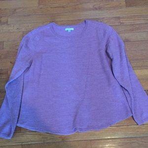 Croft & Barrow rose/lavender colored sweater